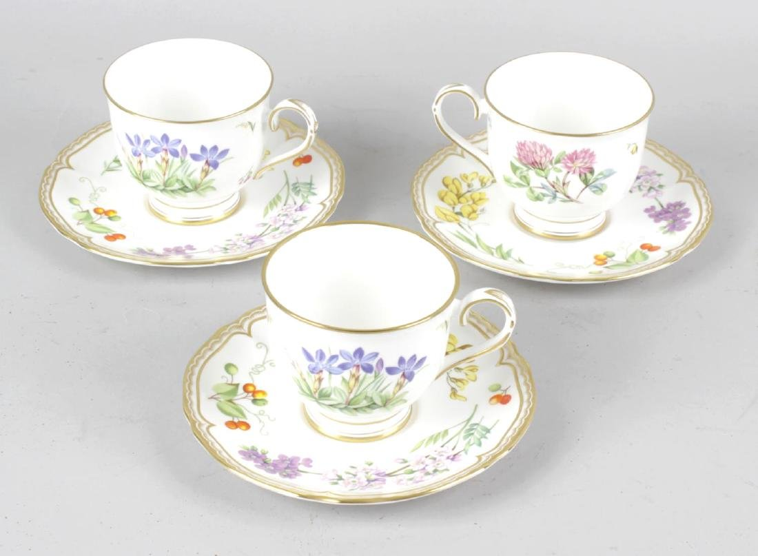 An extensive collection of Royal Worcester