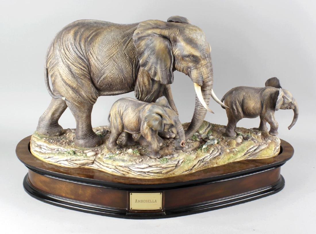 David Fryer, an impressive large animalier figure group