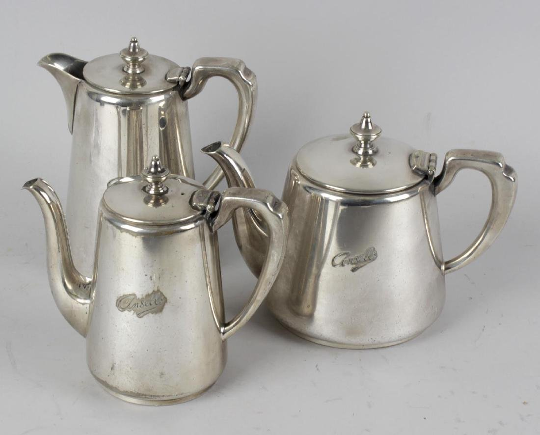 Ansell's Brewery Birmingham: A six-piece silver-plated