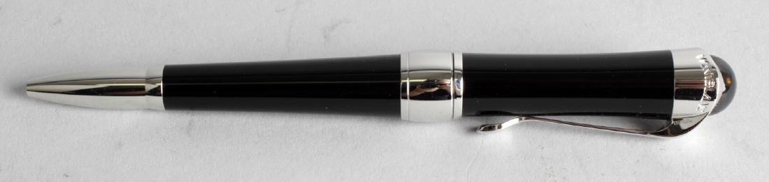 A Montblanc Etoile ballpoint pen, the black resin body