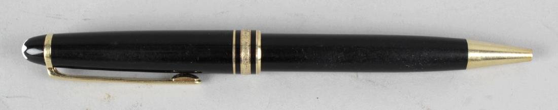 A Montblanc Meisterstuck Pix ballpoint pen, the black