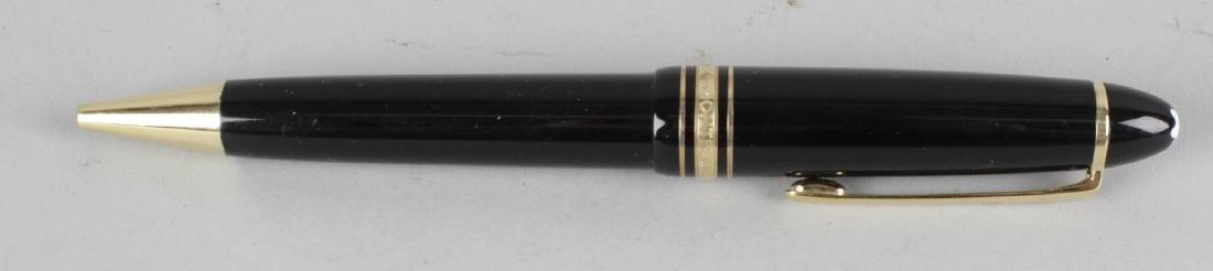 A Montblanc Meisterstuck No 161 ballpoint pen, the