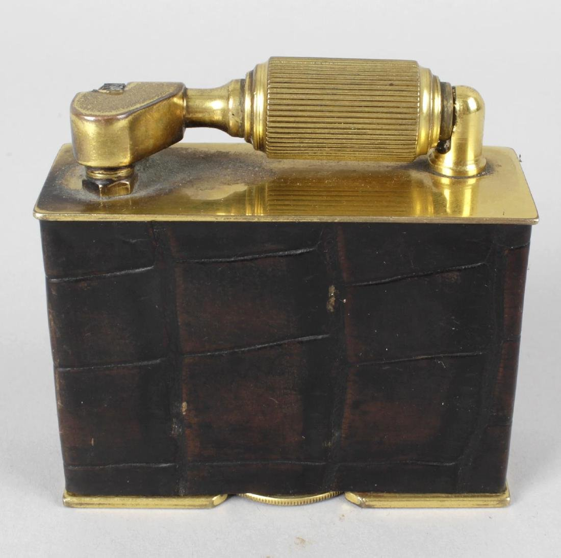 A large novelty 'McMurdo' table cigarette lighter. The
