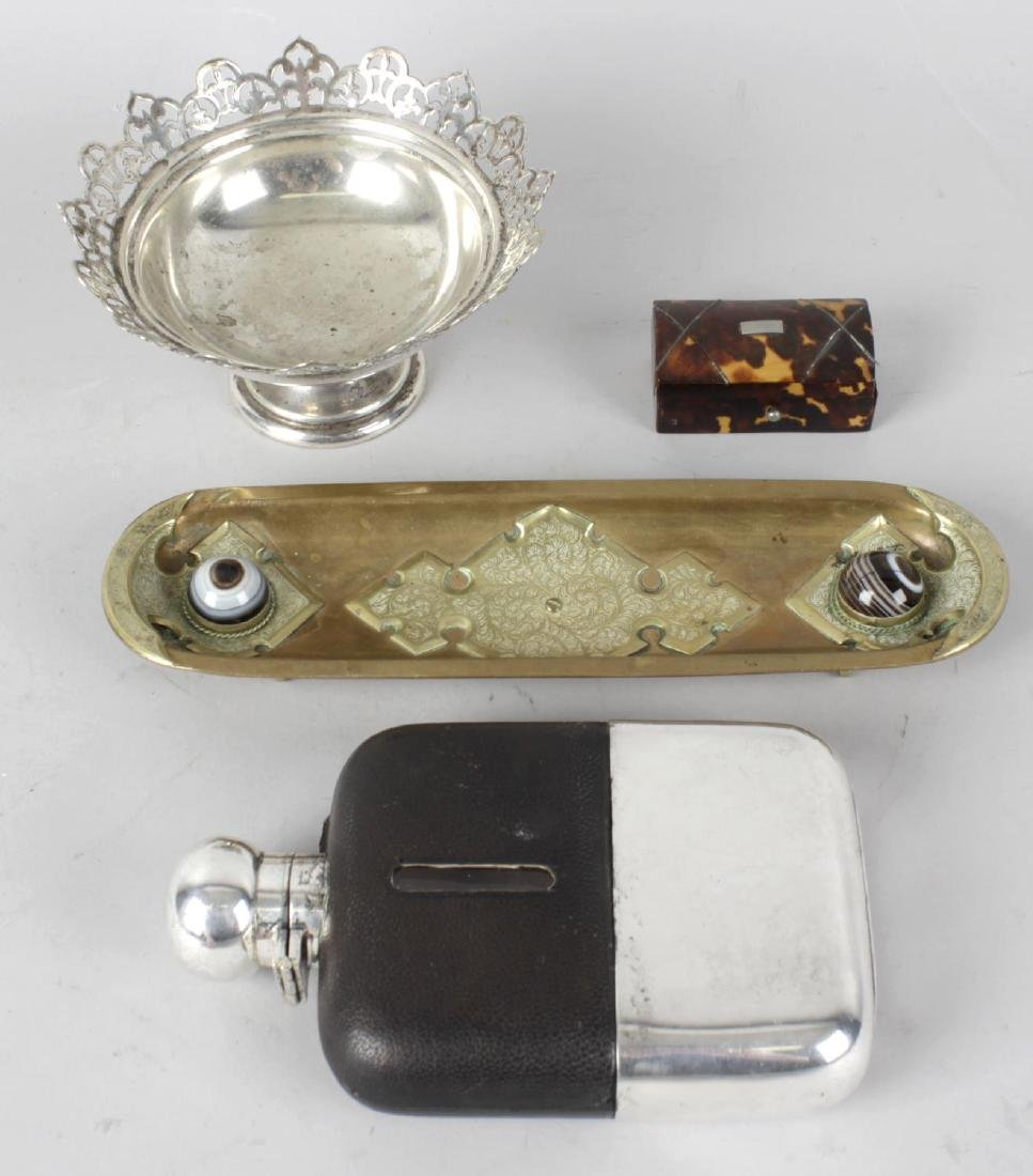 A collection of assorted items, to include an oval