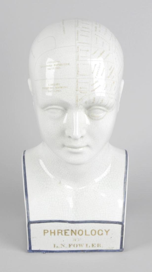 Lorenzo Niles Fowler (1811-1896), a 19th century white