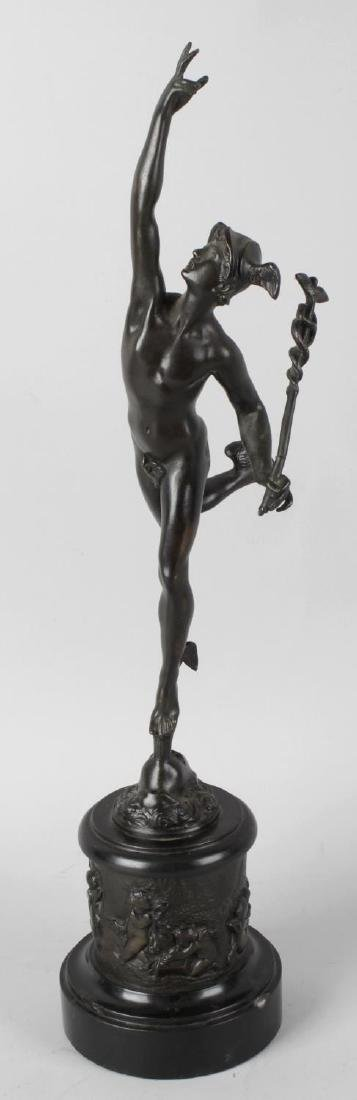 A 19th century 'Grand Tour' souvenir bronze after