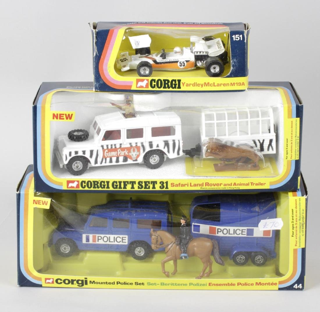 A selection of assorted Corgi diecast model vehicles,