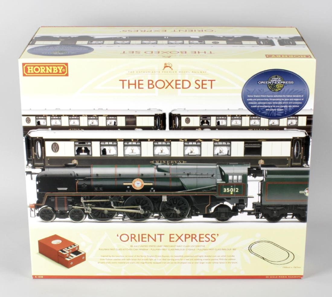 A Hornby 00 gauge 'Orient Express', 'The boxed set'