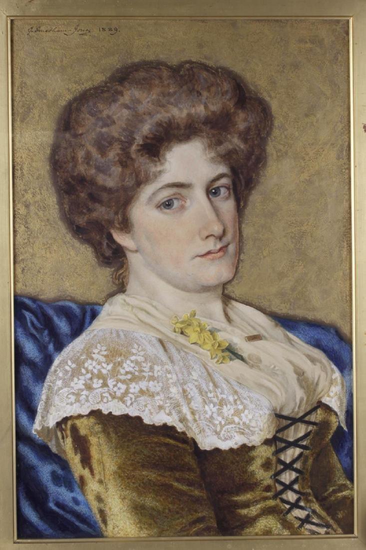 George W. Smetham-Jones, (Exh. 1887-1893), A portrait