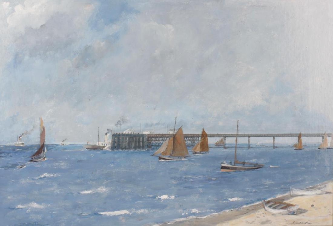 ARR John Hardy-Meadows,(1912-2008), 'Southport Pier