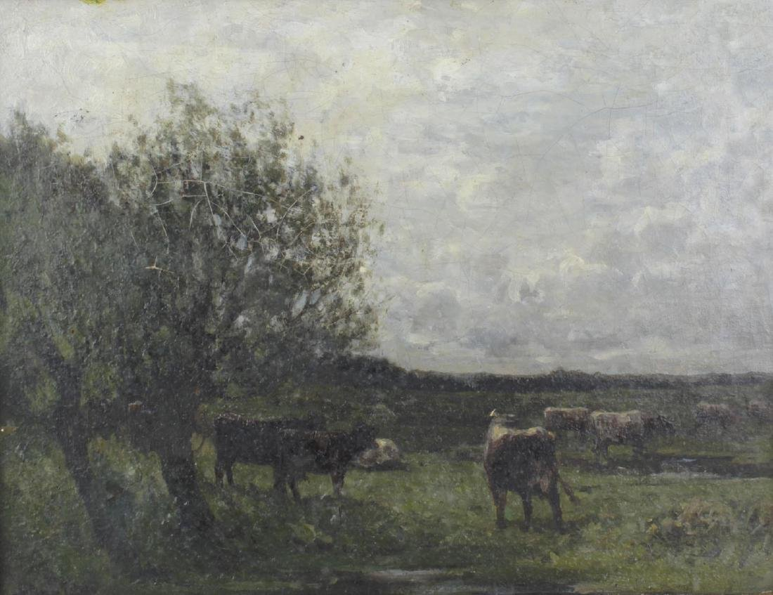 William Charles Estall, (1857-1897), Cattle in a