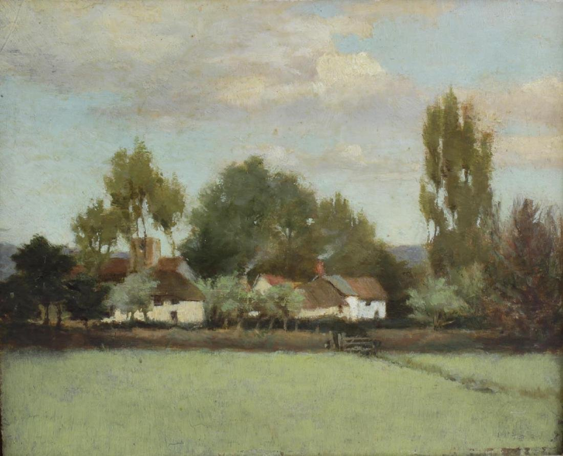 English school, (late 19th century), a pastoral