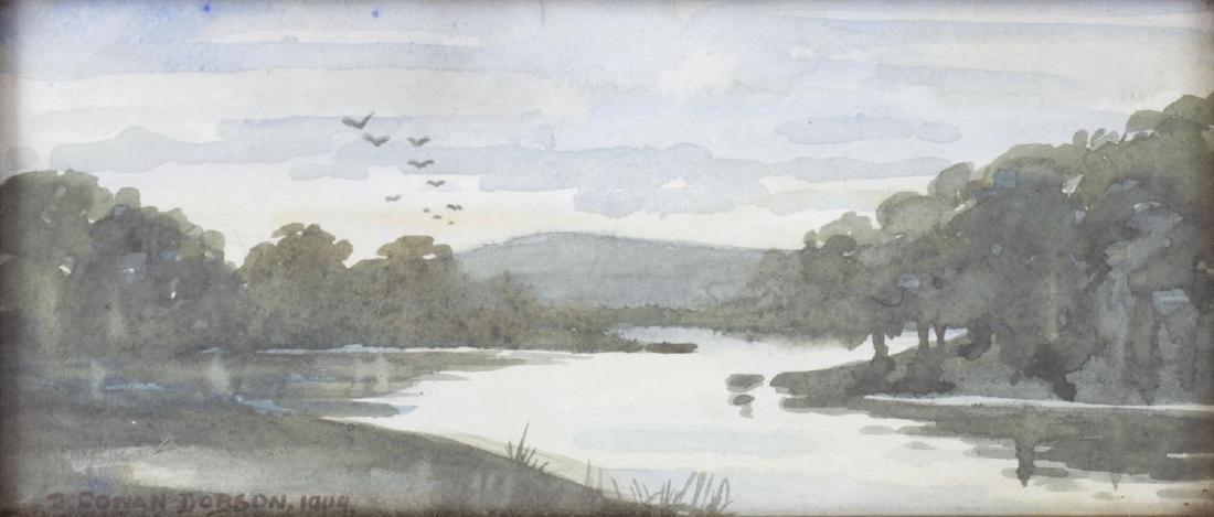 D Cowan Dobson (1858-1928), a framed and glazed