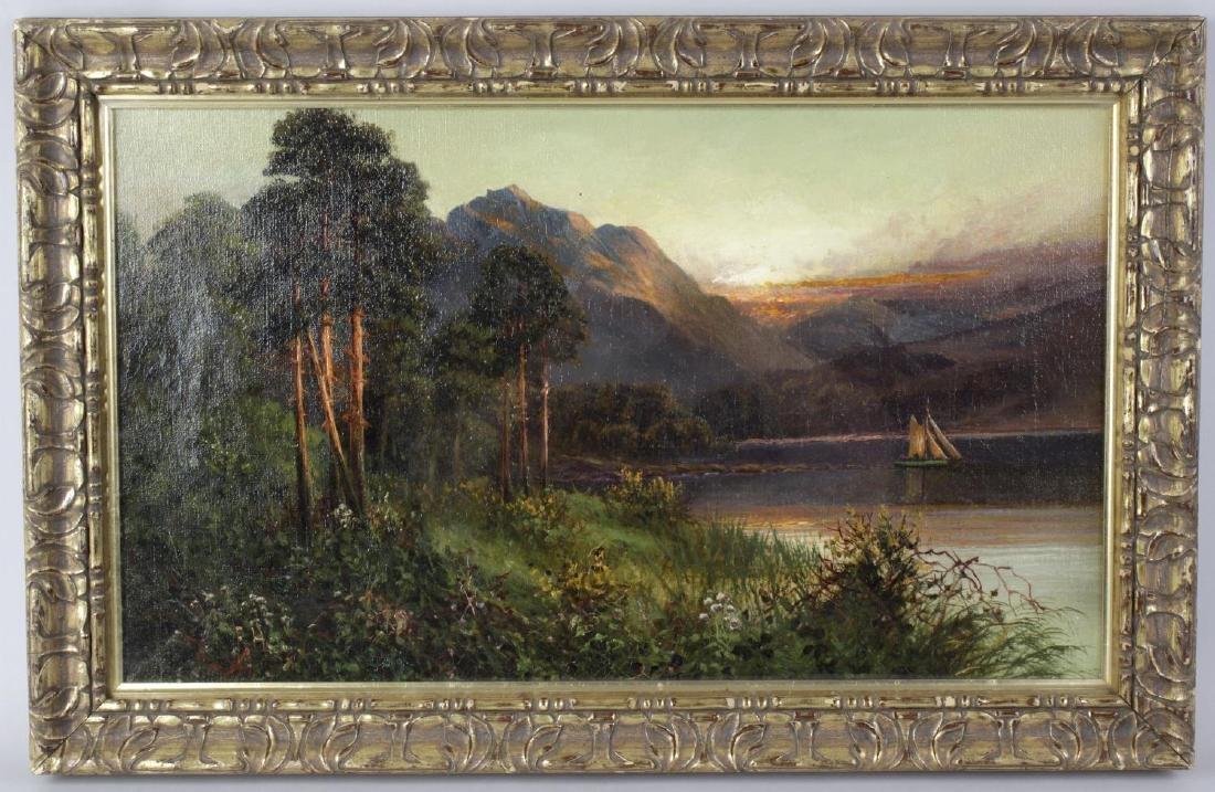 Frank Hider (1861-1933), a framed and glazed oil