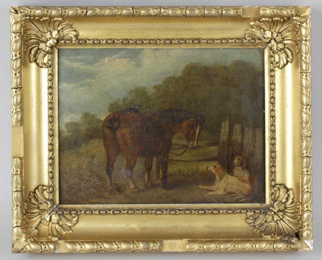 Smythe (19th century), oil on canvas, rural scene with