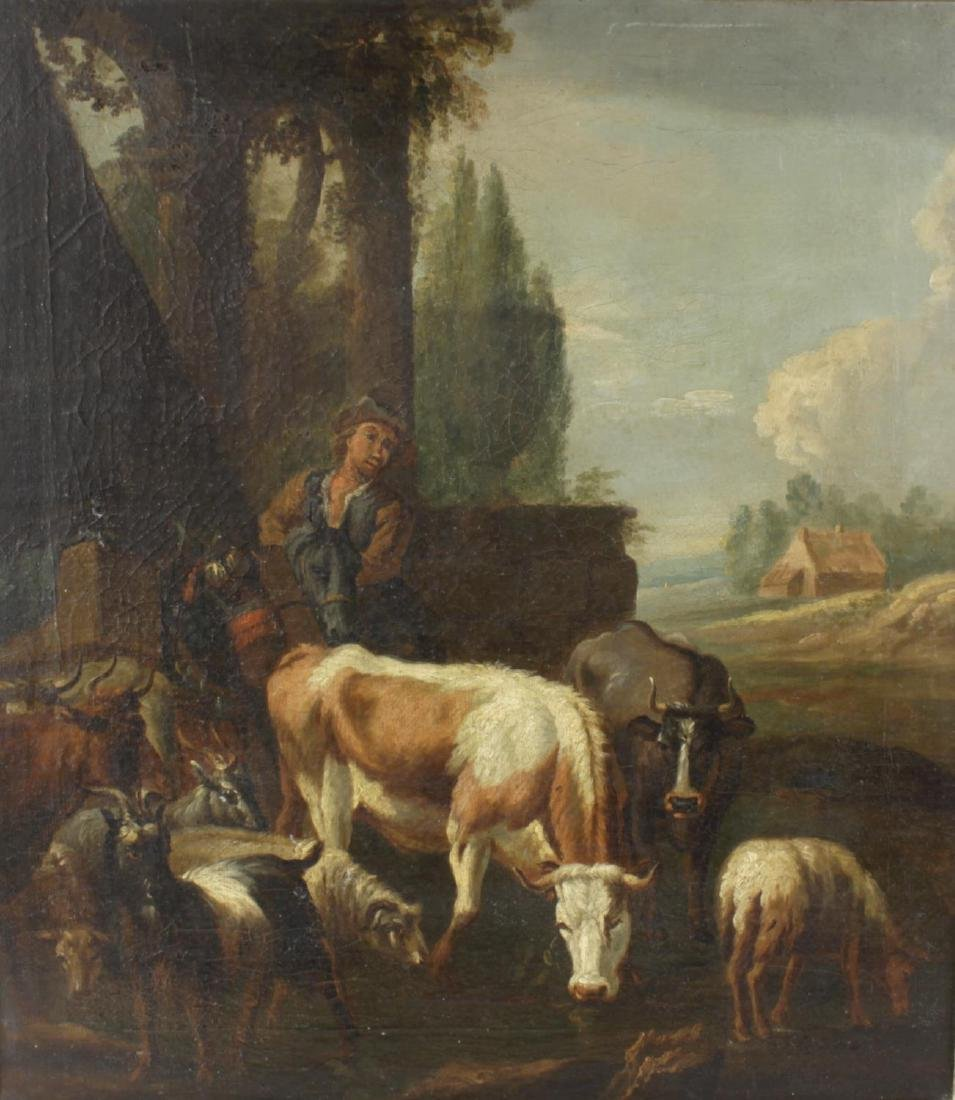 Early 19th century Dutch School, oil on canvas, upon