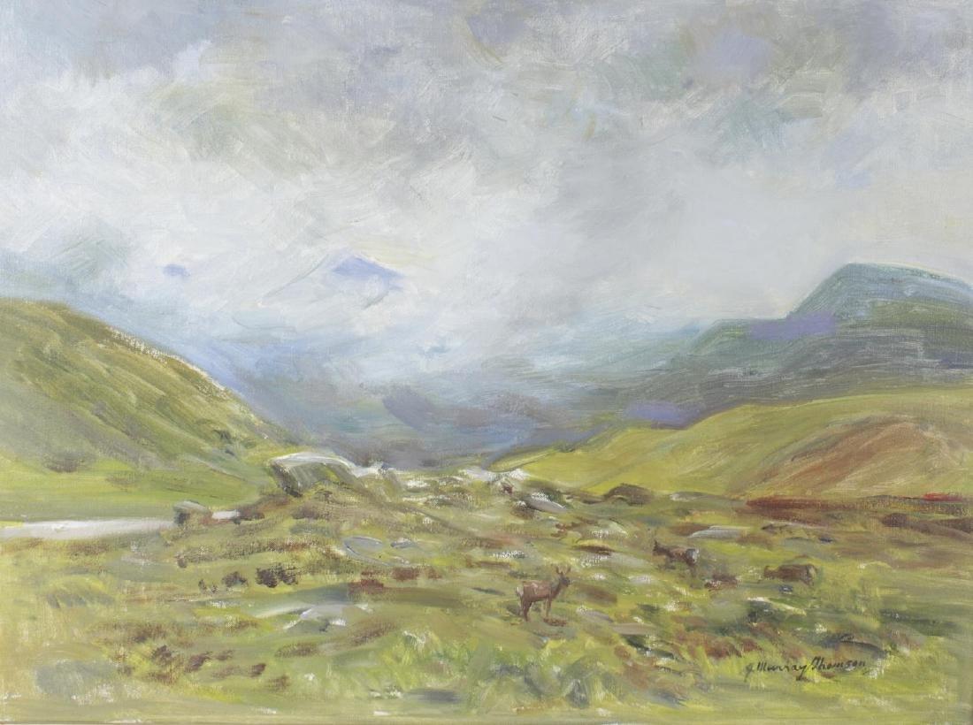 ARR John Murray Thomson (1885-1974), oil on canvas,