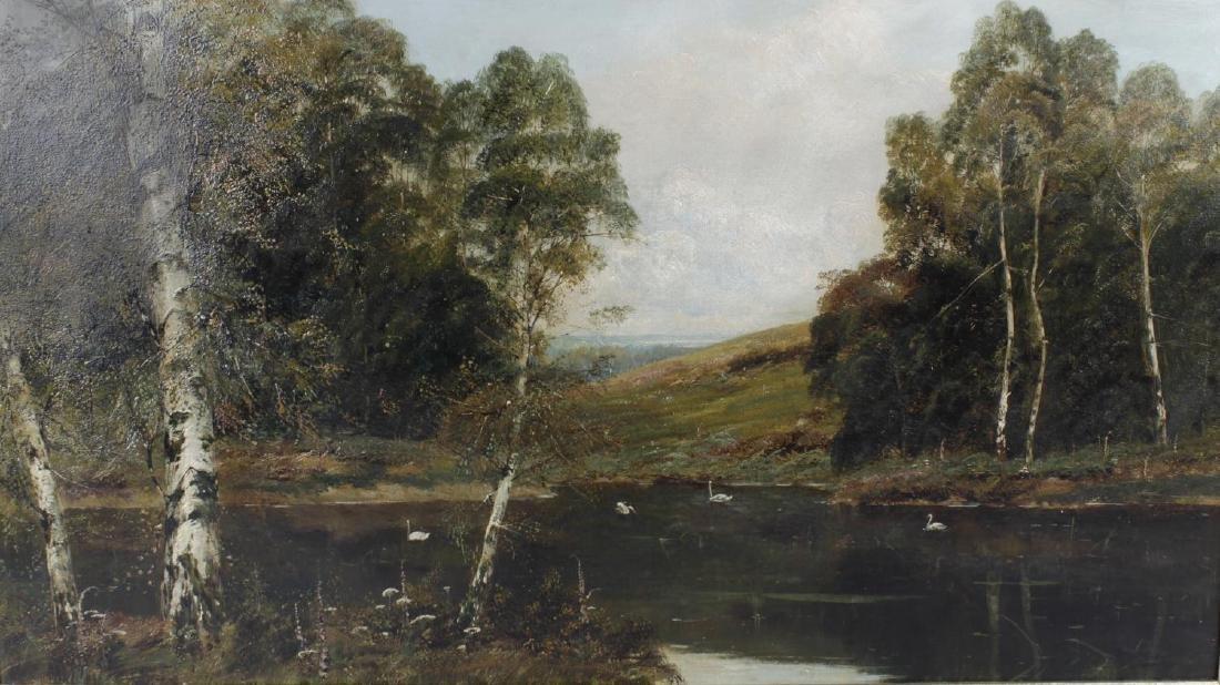 Theodore Hines, (Exh. 1876-1897), 'Near Keston, Kent',