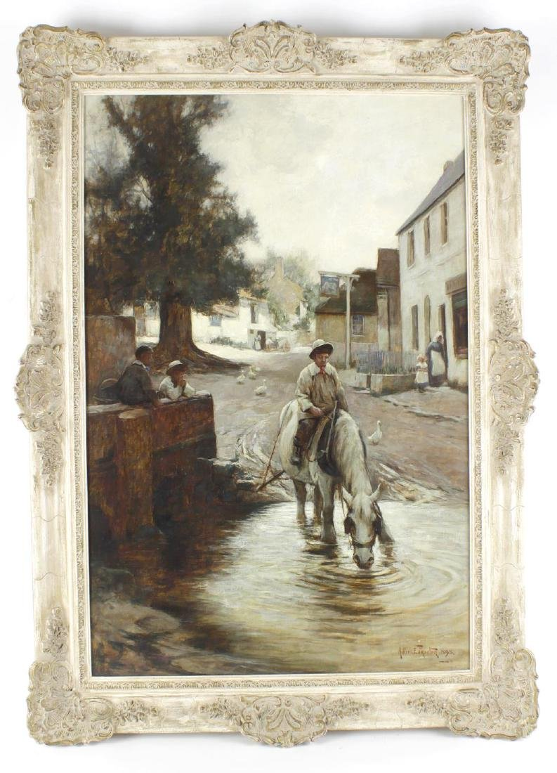 Adam Edwin Proctor, RBA, RI, ROI, (1864-1913), A horse
