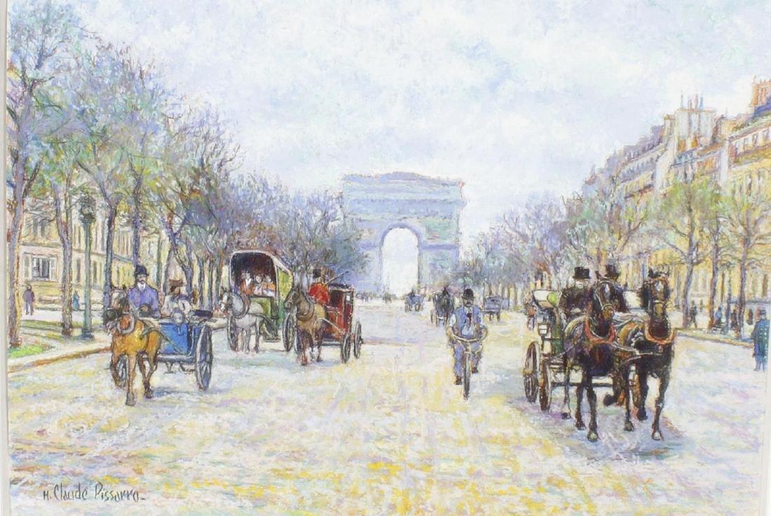 ARR Hughes Claude Pissarro, (b. 1935), 'Denis Frapin a