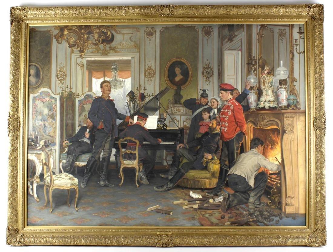 Follower of Anton Alexander von Werner, (German,