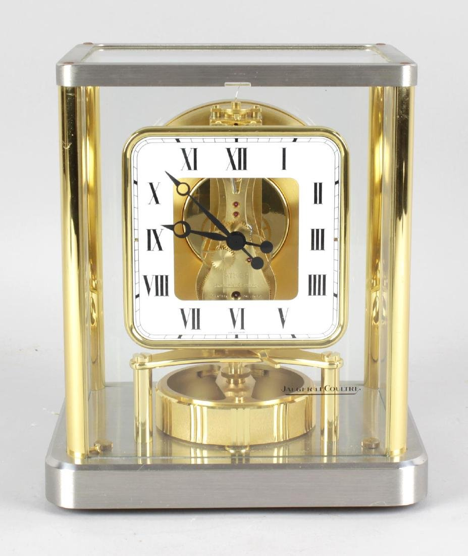 A Jaeger LeCoultre 540 Atmos clock, No 611978, the
