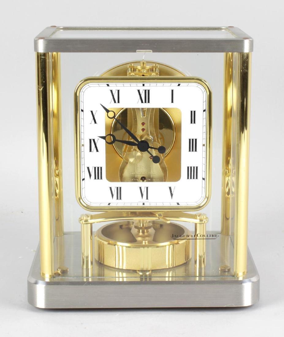 A Jaeger LeCoultre 540 Atmos clock, No 611978, the