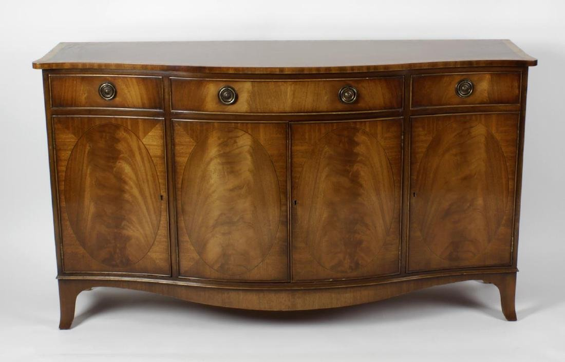 A mixed collection of furniture. Comprising: a Bevan