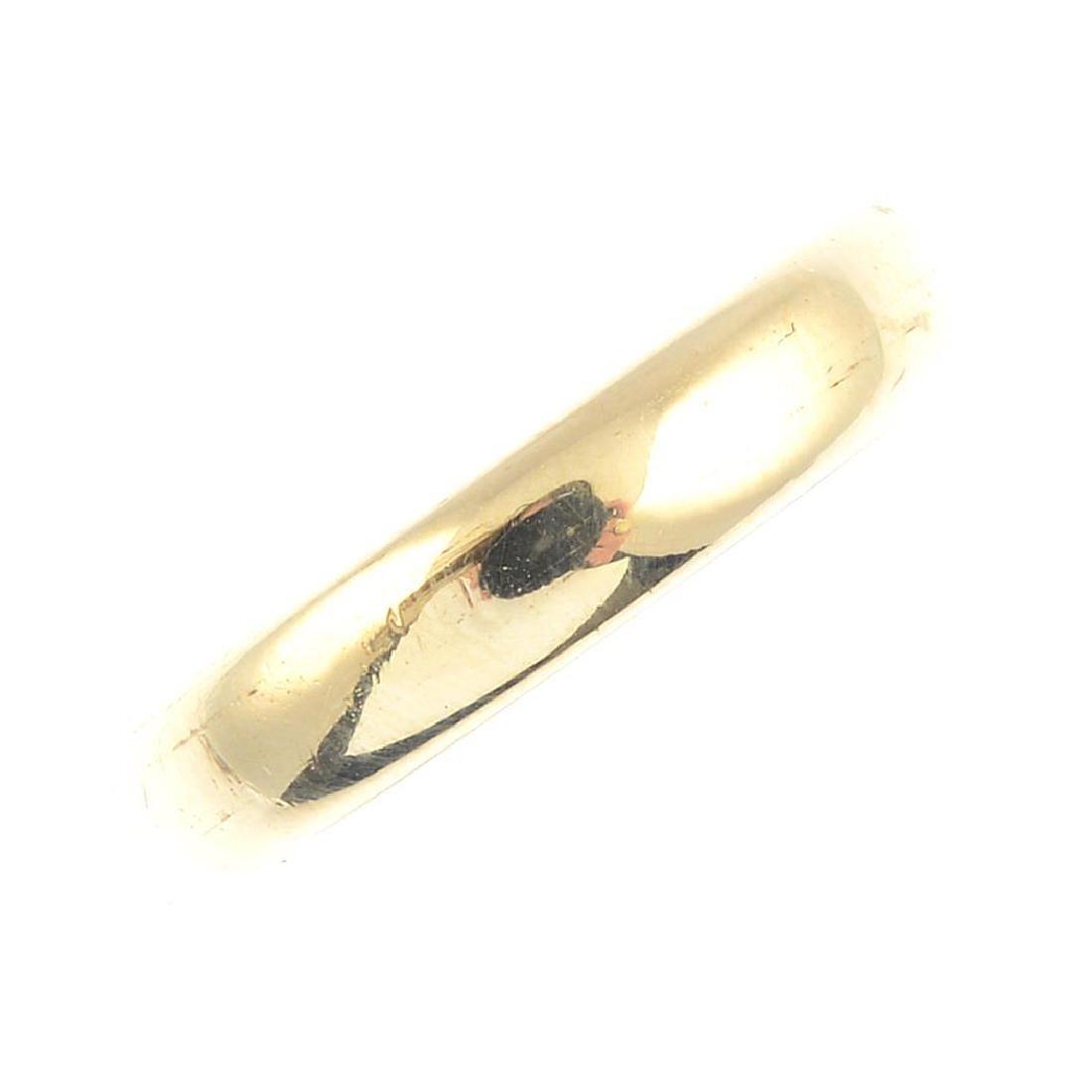 TIFFANY & CO. - a band ring. Signed Tiffany & Co. Ring