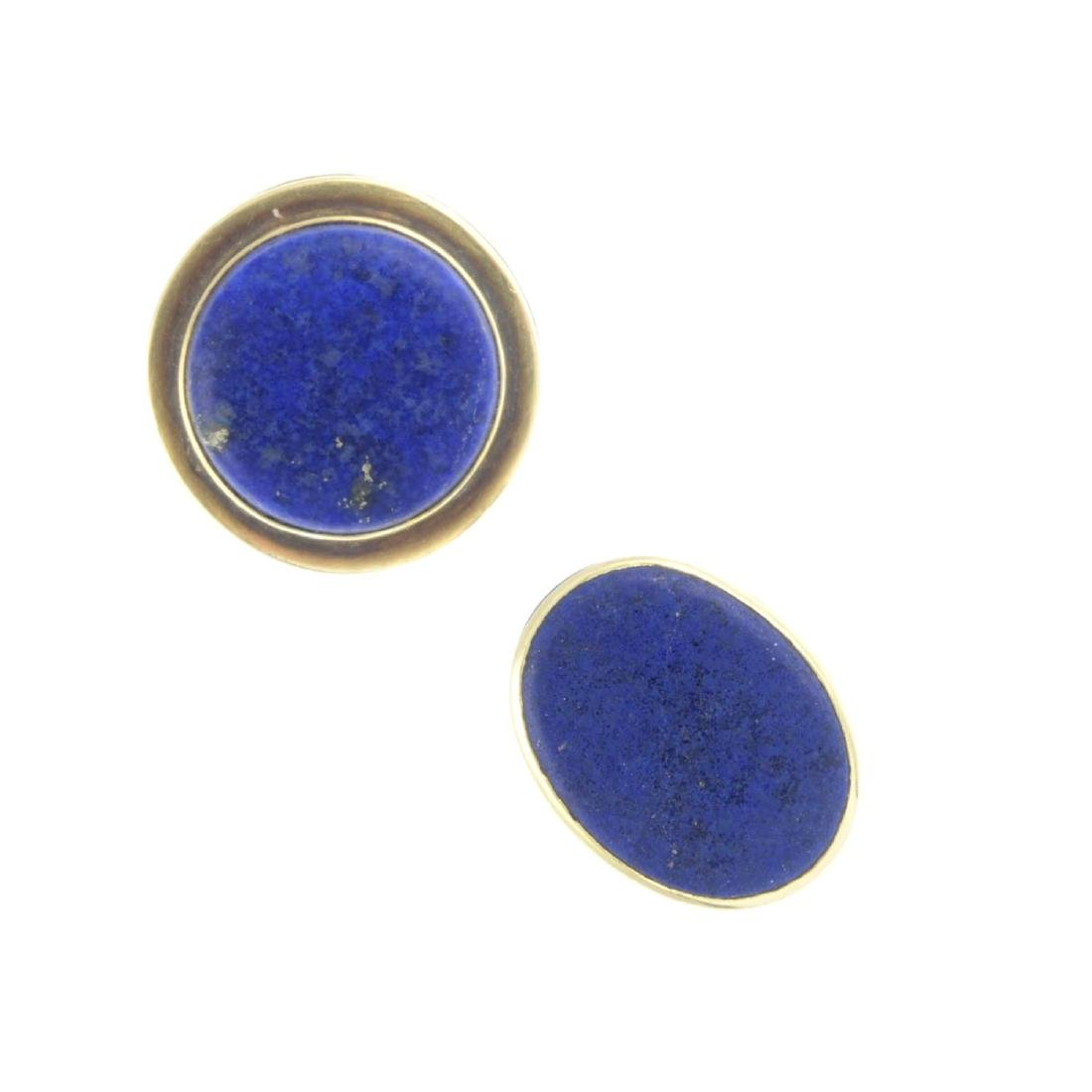 A selection of lapis lazuli and gem-set jewellery. To