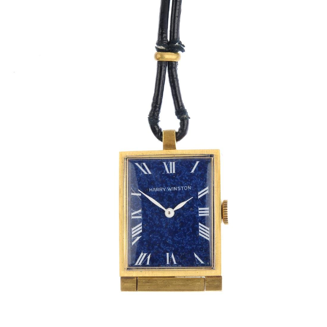HARRY WINSTON - a mid 20th century travel watch. Of