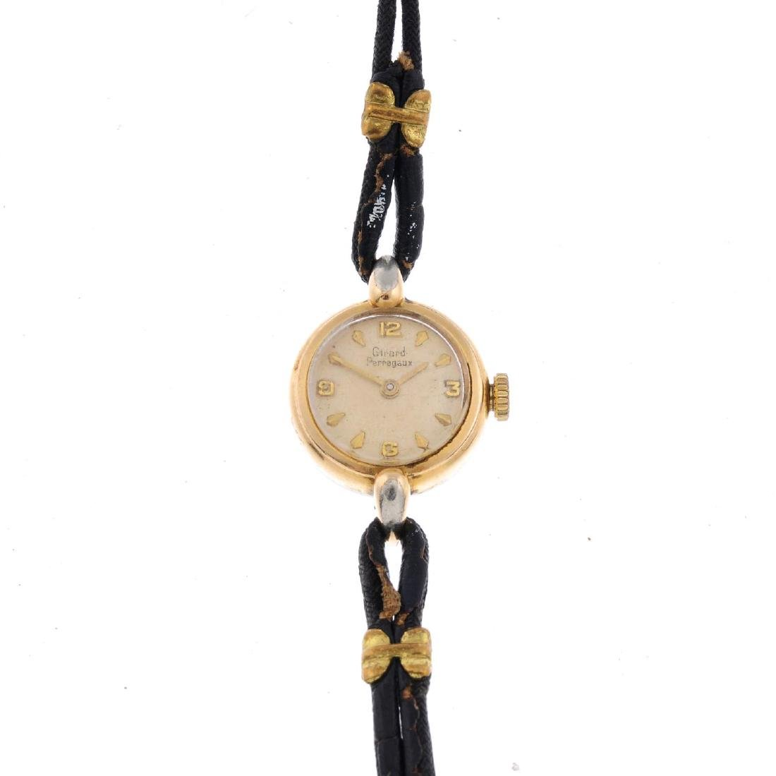 GIRARD-PERREGAUX - a lady's wrist watch. Gold plated