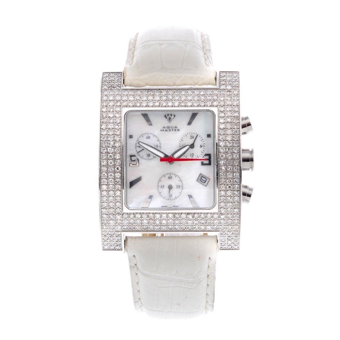 AQUA MASTER - a lady's chronograph wrist watch.