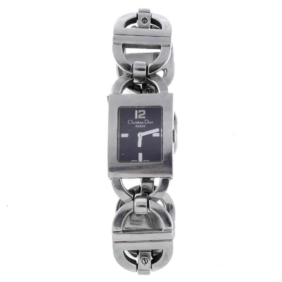 CHRISTIAN DIOR - a lady's Malice bracelet watch.