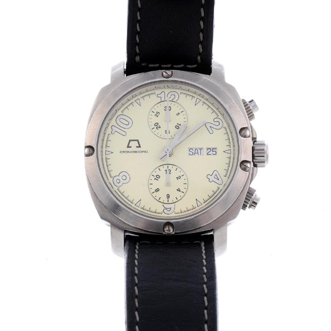 CHRONOSCOPIA - a gentleman's chronograph wrist watch.