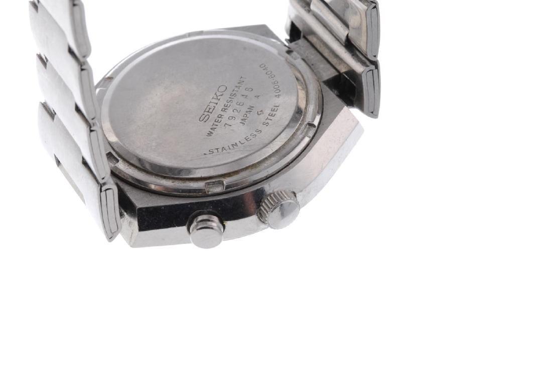 SEIKO - a gentleman's Bell-Matic bracelet watch. - 2