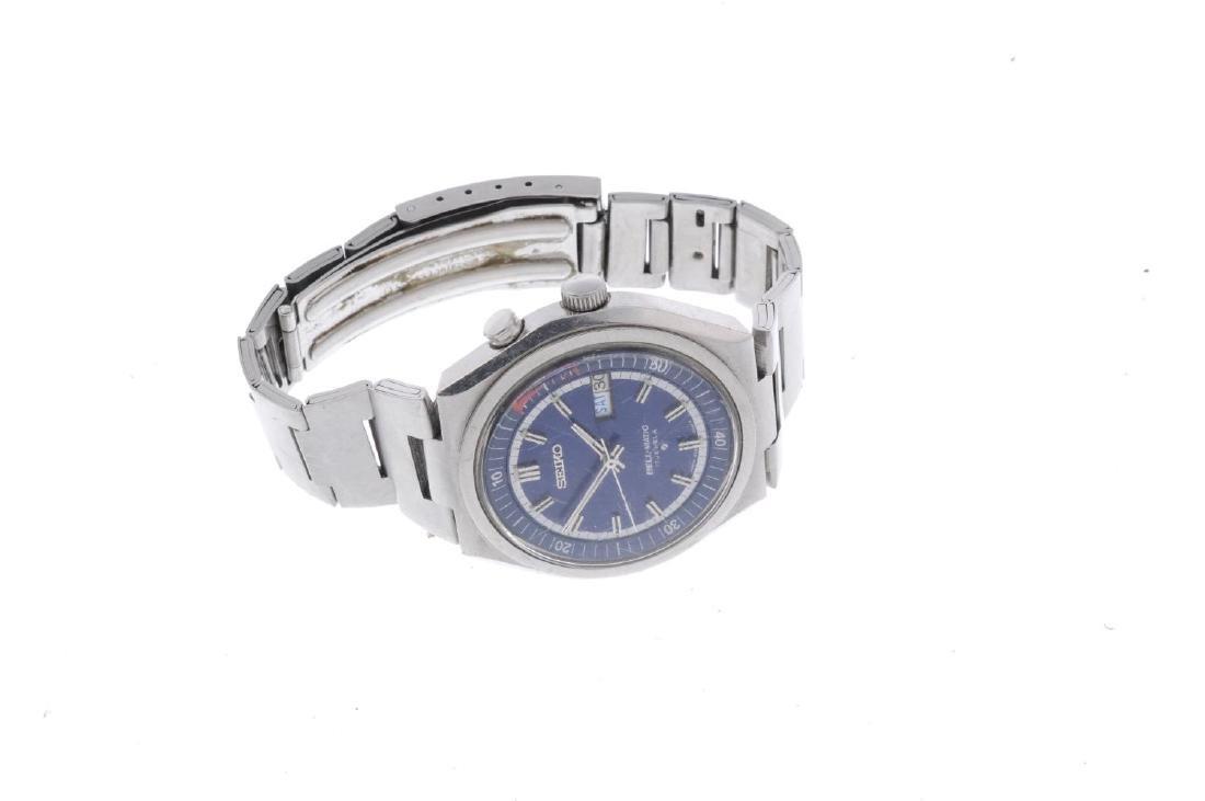 SEIKO - a gentleman's Bell-Matic bracelet watch. - 3