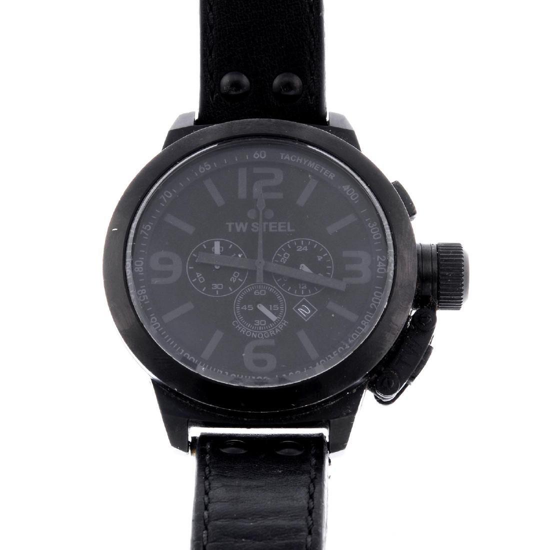 TW STEEL - a gentleman's chronograph wrist watch.