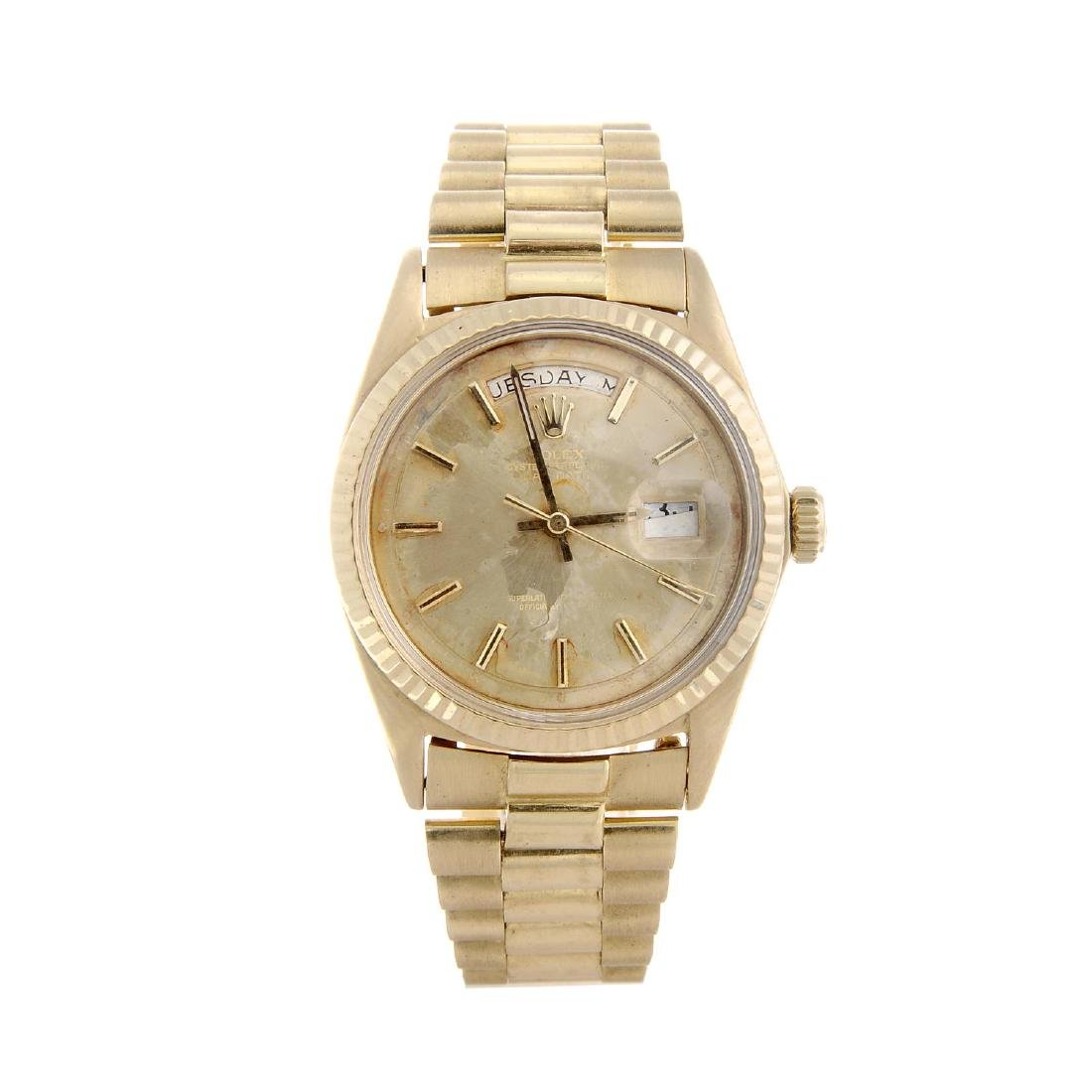 ROLEX - a gentleman's Oyster Perpetual Day-Date