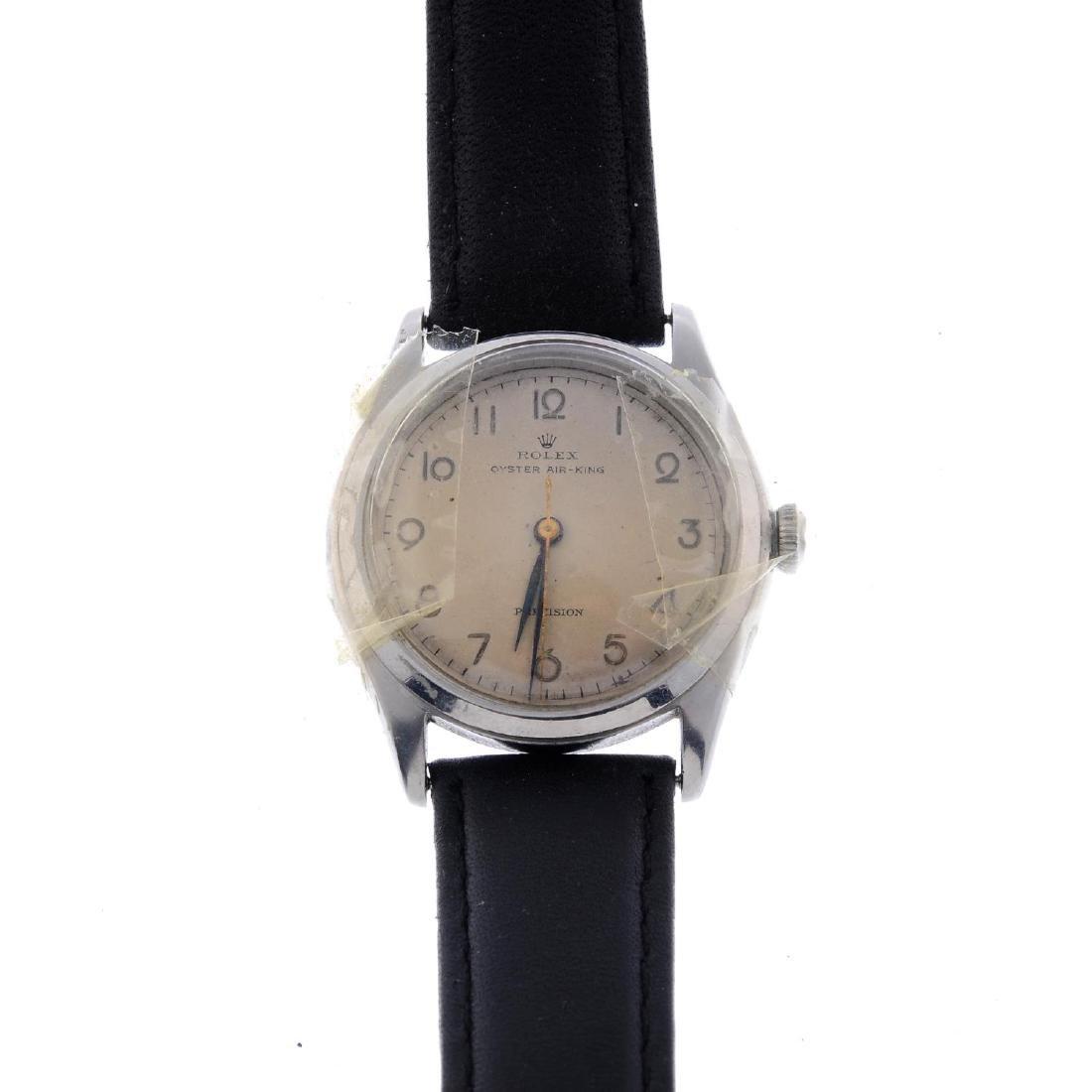 ROLEX - a gentleman's Oyster Air-King bracelet watch.