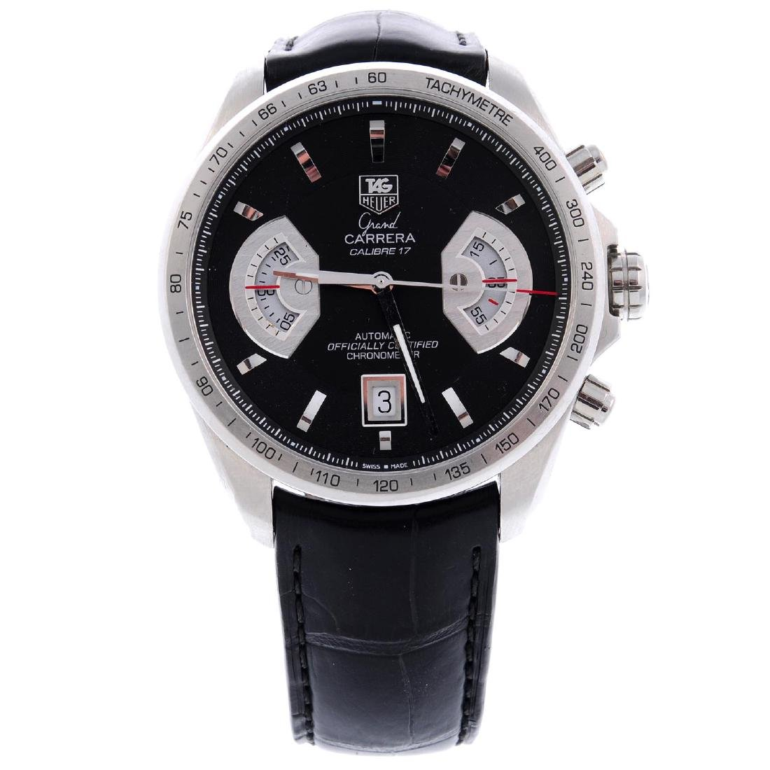 TAG HEUER - a gentleman's Grand Carrera chronograph