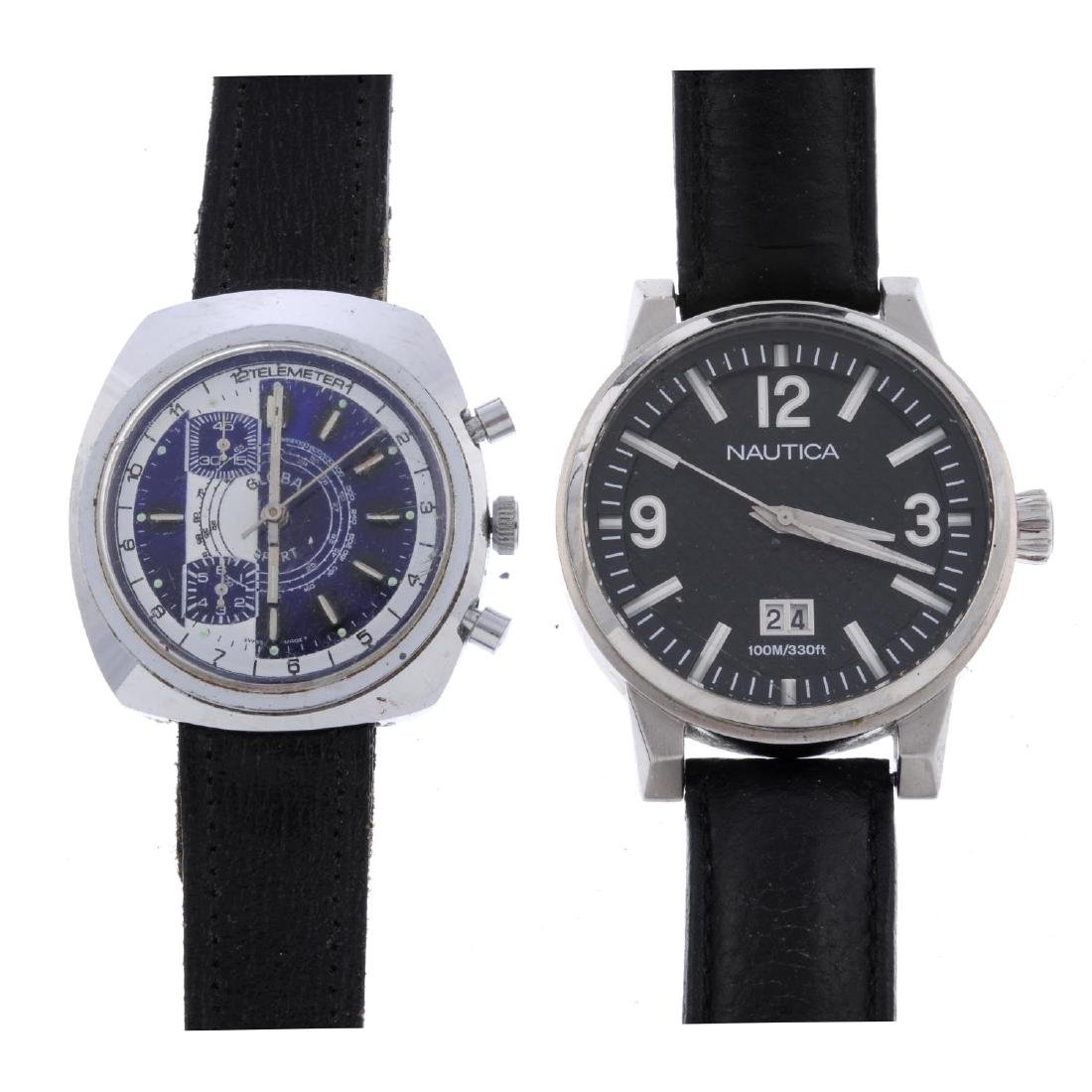 A group of six assorted watches, to include an example