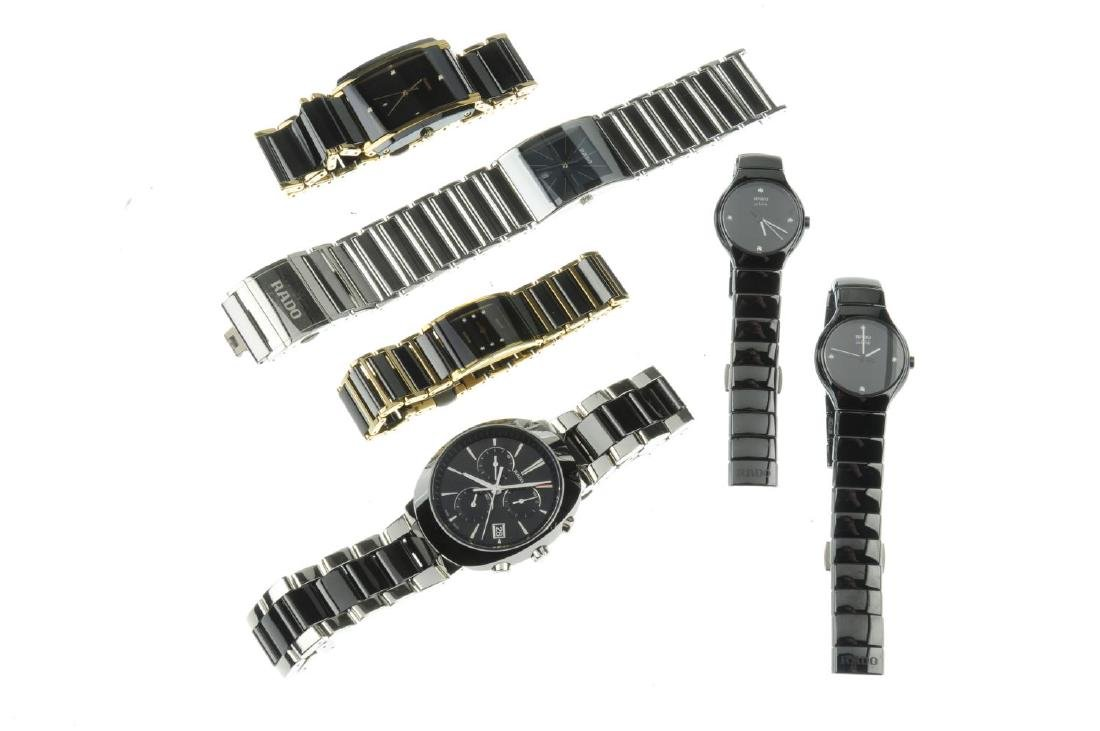 A group of six assorted Rado watches, to include a - 2