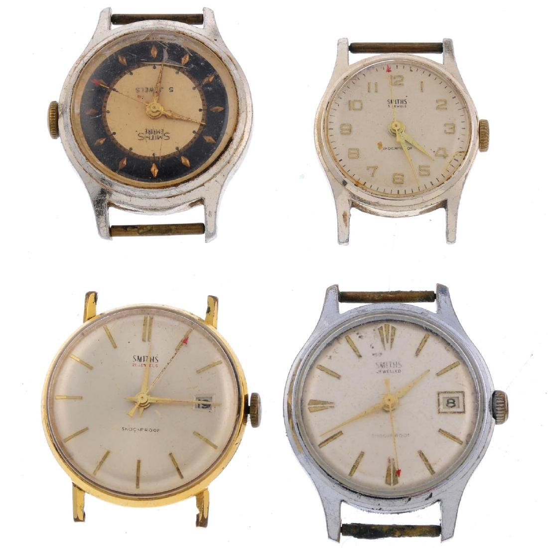 A group of eight assorted Smiths watches. All