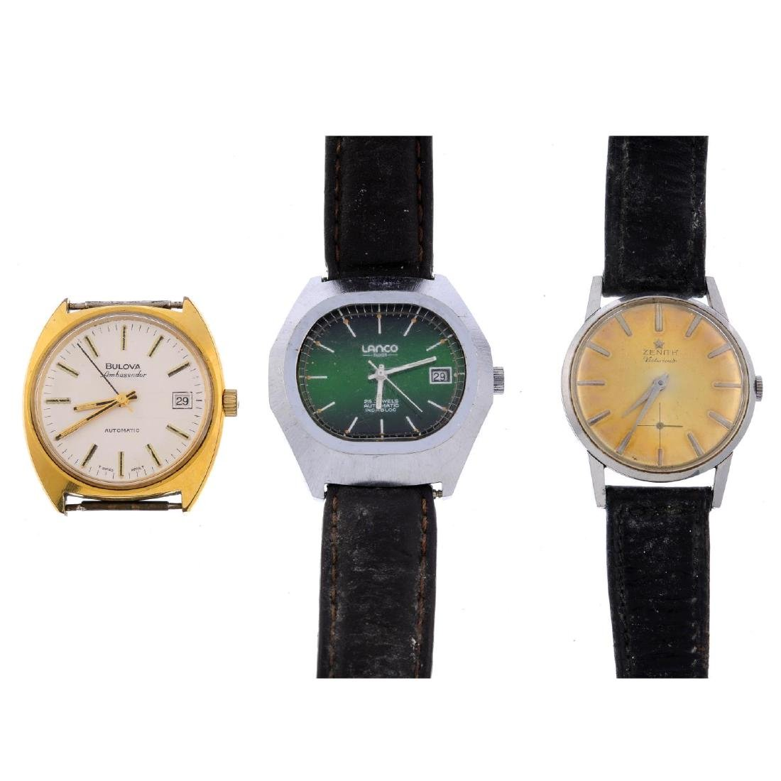 A group of nine assorted watches, to include an example