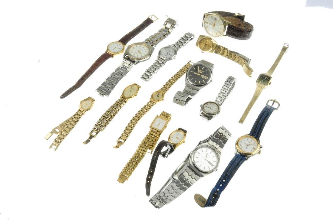 A group of fifteen assorted Seiko watches. All - 2