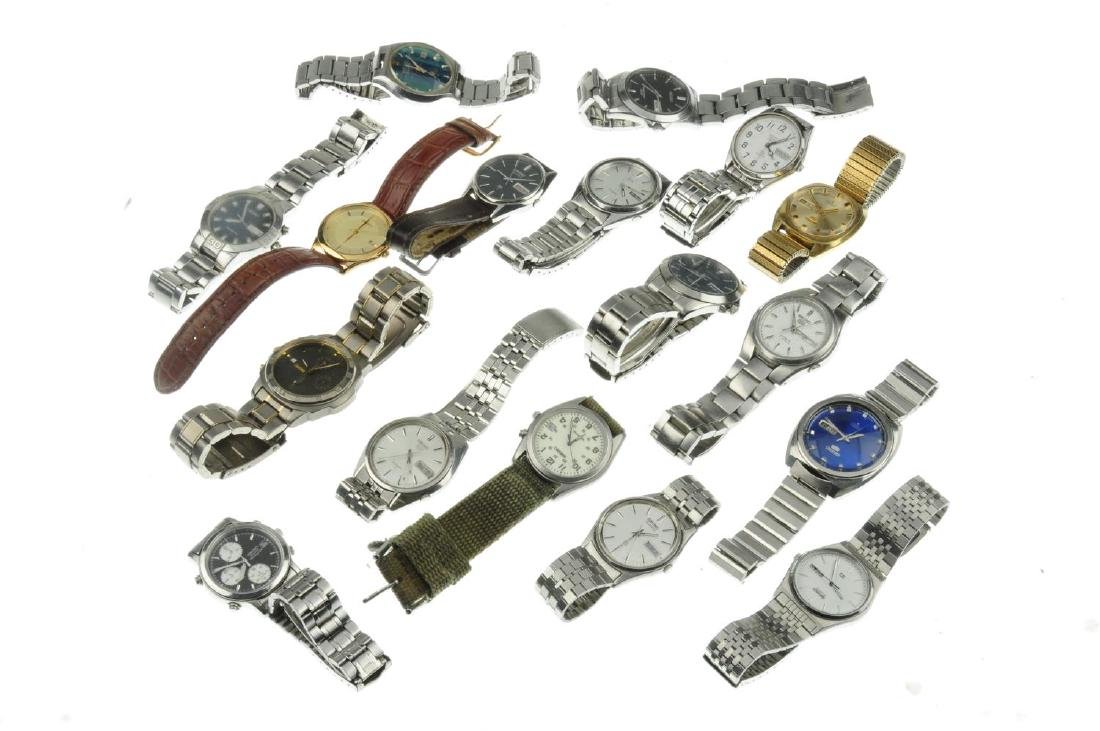 A group of seventeen assorted Seiko watches. All - 2