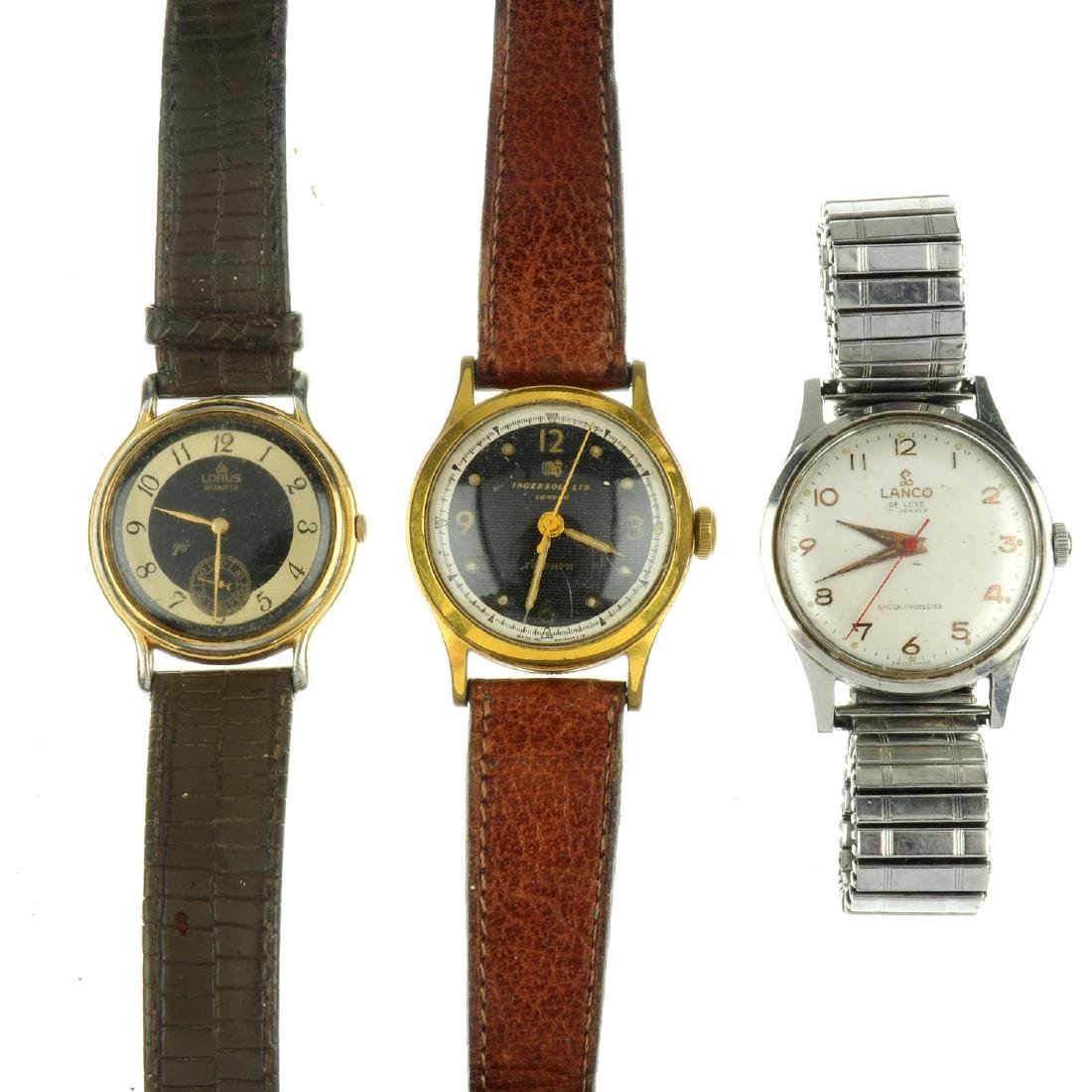 A bag of assorted watches, mainly mechanical examples.