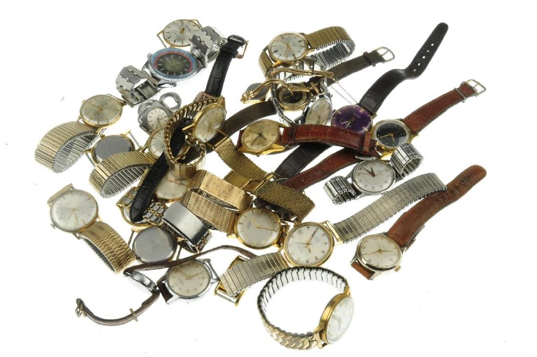 A bag of assorted watches, mainly mechanical examples. - 2