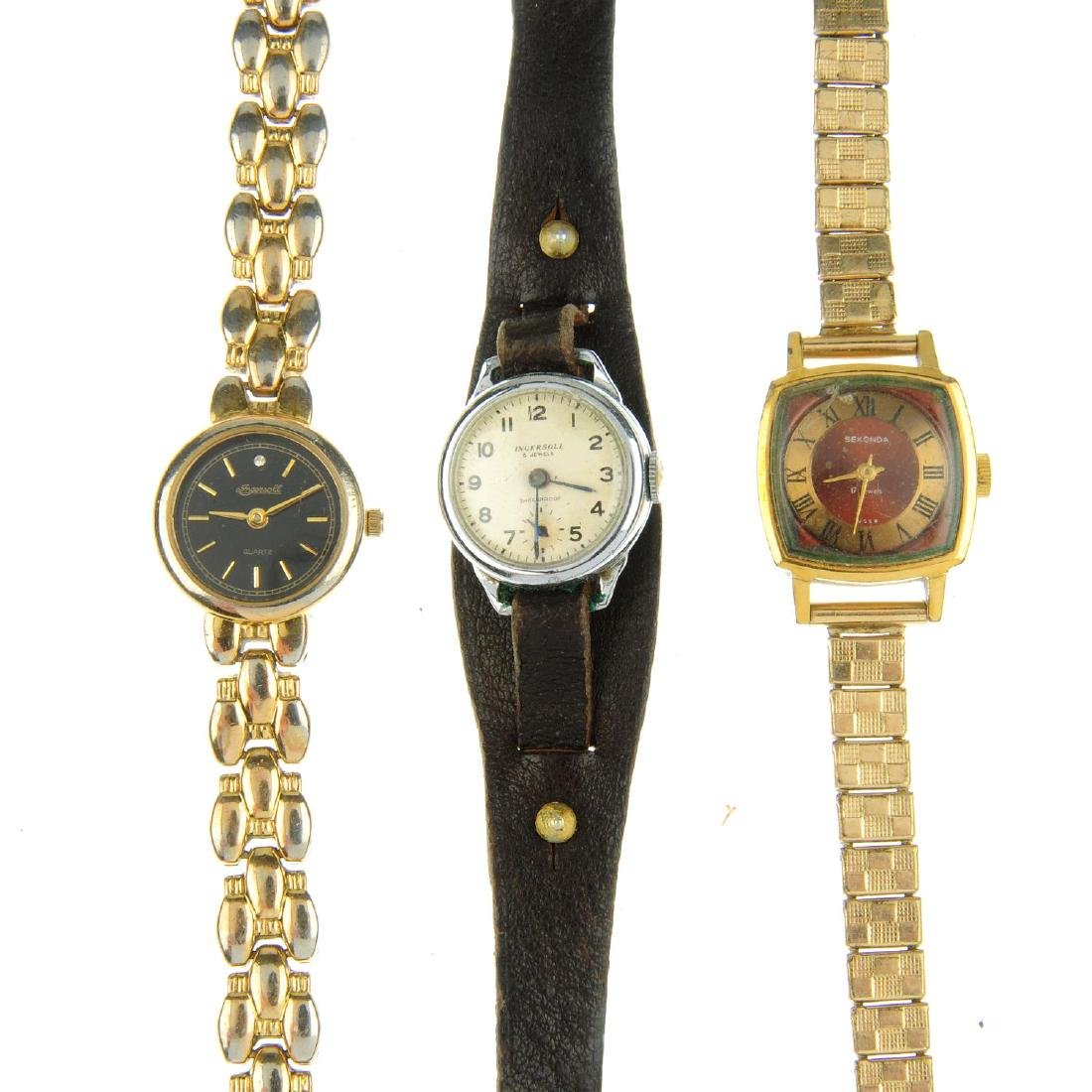 A bag of assorted lady's watches, mainly mechanical